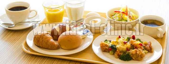 لاغری با خوردن صبحانه خوب